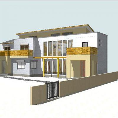 2世帯住宅に建替える提案。