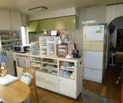 既設のキッチン。位置はだいぶ変わりました。