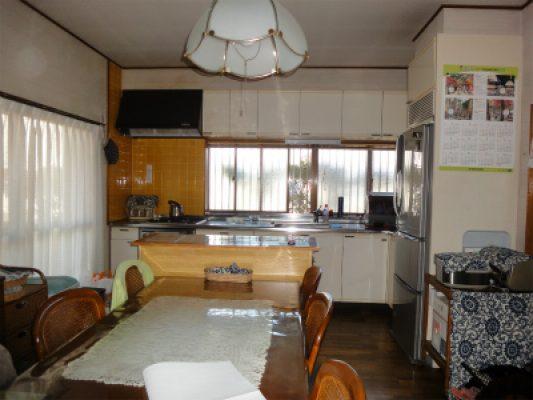 既設のキッチンの様子